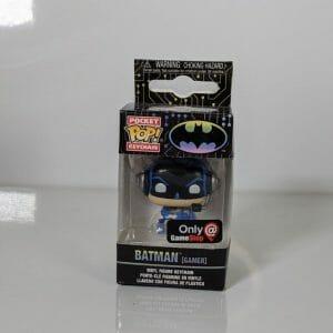 batman gamer funko pop! keychain