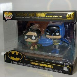 batman and robin batman new look 1964 funko pop!