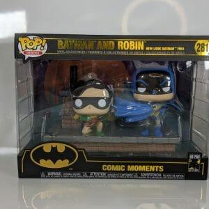 batman and robin movie moments funko pop!