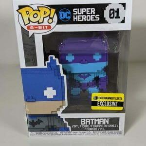 8 bit batman funko pop!