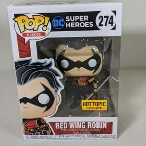 ht exclusive red wing robin funko pop!