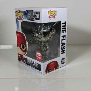 fugitive toys the flash chrome funko