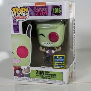 invader zim and minimoose summer convention 2020 funko pop!