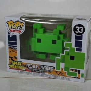 green medium invaders funko pop!