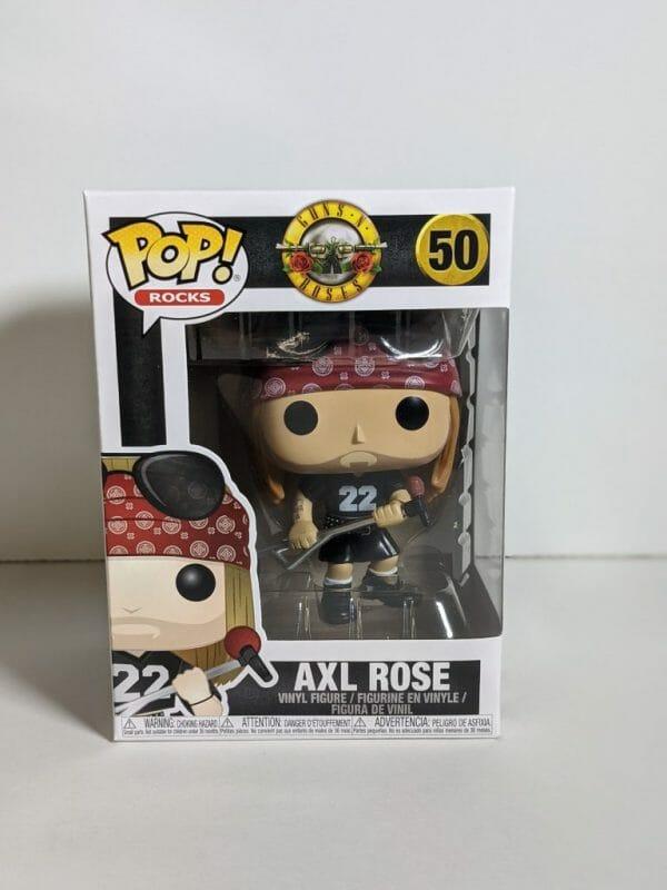 axl rose funko pop!