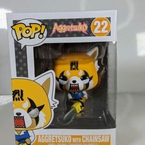 agrretsuko chainsaw funko pop!