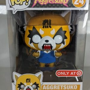 aggretsuko 10 inch rage funko pop!