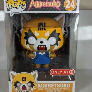 10 inch rage aggretsuko funko pop!