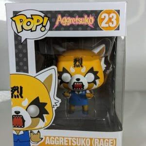 aggretsuko rage funko pop!