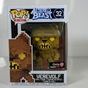 altered beast gold werewolf funko pop!