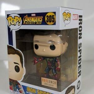 iron spider box lunch funko pop!
