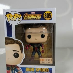 avengers iron spider funko pop!