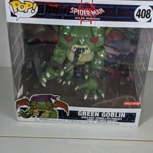 into the spider-verse green goblin 10 inch funko