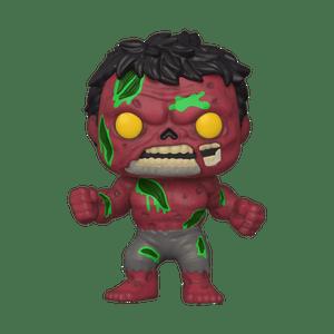 zombie red hulk funko pop!
