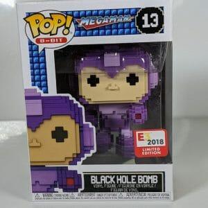 black hole bomb megaman funko pop!