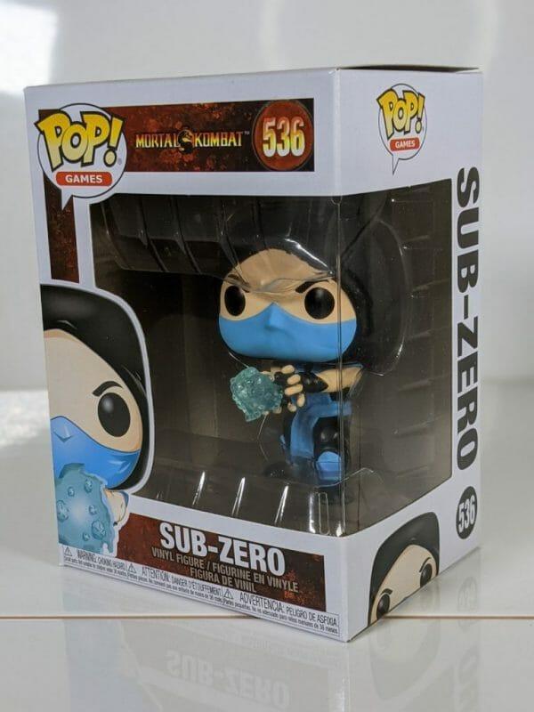 classic sub-zero funko pop!