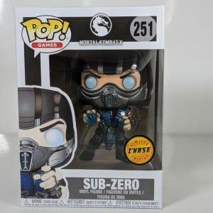 sub-zero mortal kombat chase funko pop!