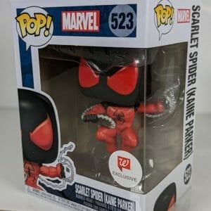 scarlet spider kaine parker funko pop!