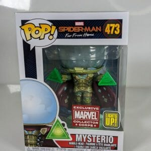 marvel corps mysterio funko pop!