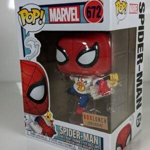 box lunch exclusive spider-man funko pop!