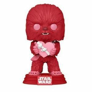 chewbacca star wars valentines funko pop!
