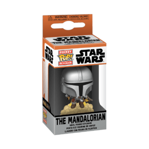 the mandalorian with blasters pocket pop!