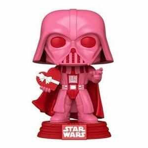 star wars valentines darth vader funko pop!