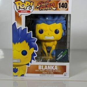 blanka street fighter funko pop!
