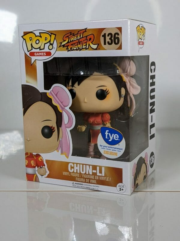 chun-li fye street fighter funko pop!