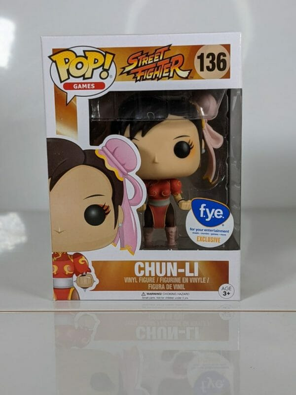 chun-li street fighter funko pop!