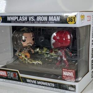 Marvel corps whiplash vs iron man funko pop!