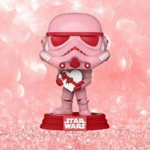 Valentines stormtrooper funko pop