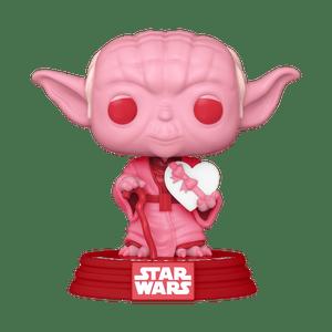 valentines day yoda funko pop!
