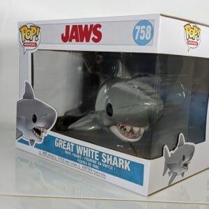 great white shark funko pop!