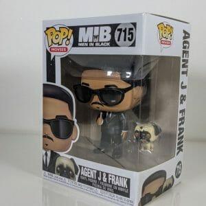 men in black agent j and frank funko pop!