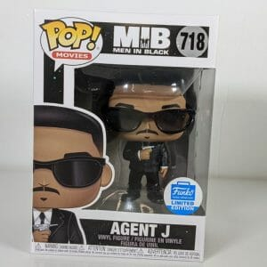agent j men in black funko pop!