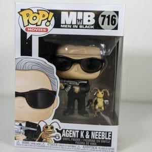agent k and neeble funko pop!