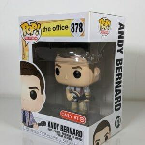 the office andy bernard banjo funko pop!