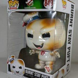 ghostbusters burnt stay puft funko pop!