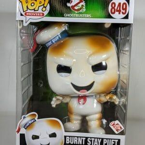 burnt stay puft ghostbusters funko pop!