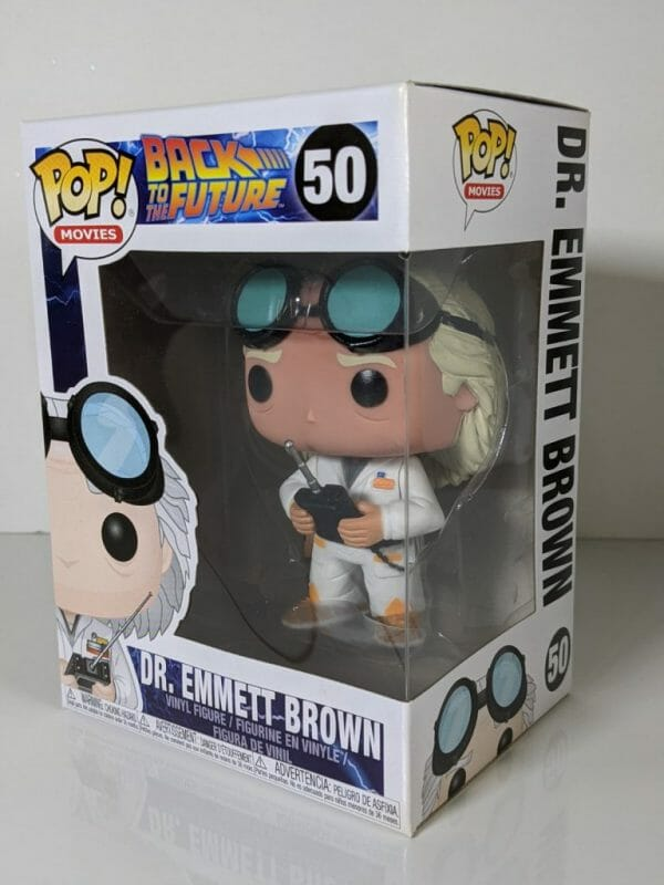 back to the future dr emmett brown funko pop!