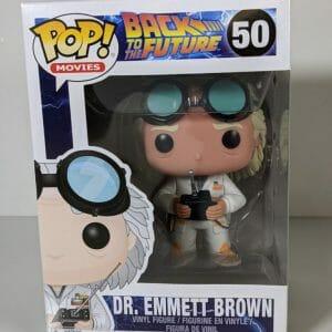 dr emmett brown funko pop!