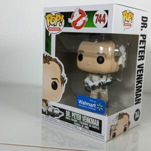 ghostbusters dr peter sticky funko pop!