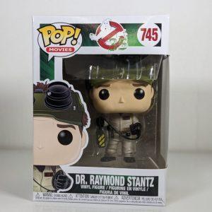 dr raymond stantz ghostbusters funko pop!