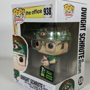 the office dwight schrute as recyclops funko pop!