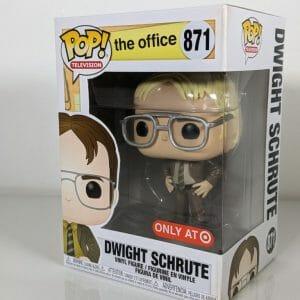 teh office dwight schrute blonde funko pop!