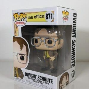 the office dwight schrute funko pop!
