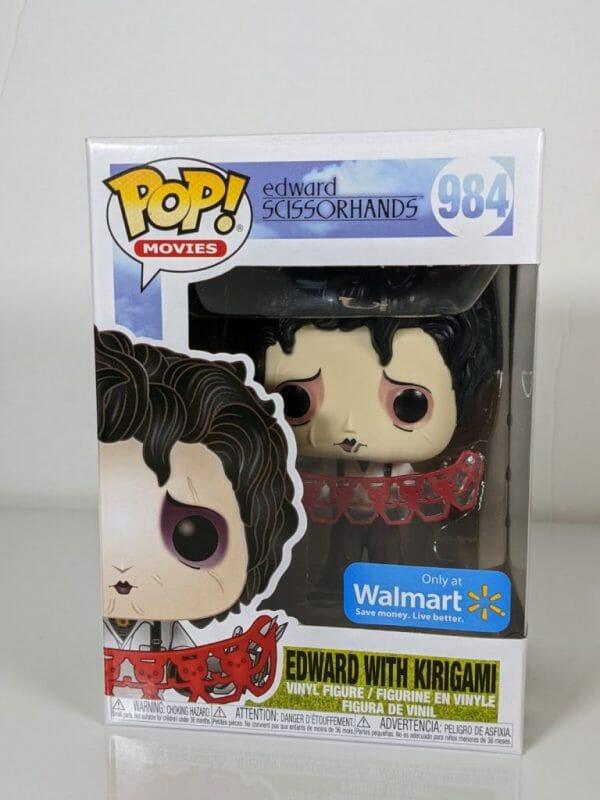 edward with kirigami funko pop!