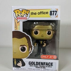 goldenface the office yellow funko pop!