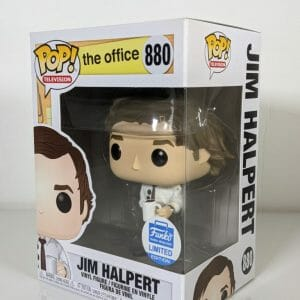 the office jim halpert 3 hole punch funko pop!